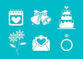 Bröllopsklockvektor