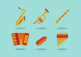 GRATIS MUSICAL INSTRUMENTS VECTOR