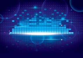 Sound Bars Vektor Bakgrund
