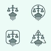 Geschäftsrecht Logos des Justizrechts