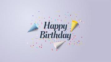 Grattis på födelsedagen bakgrund