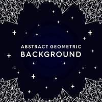 mörk geometrisk bergbakgrund