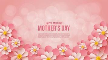 Muttertag Hintergrund vektor