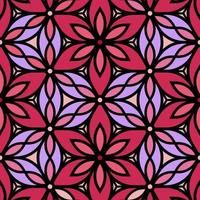 rosa und lila dekorativer Blumenhintergrund vektor