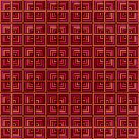 sömlös rosa orange fyrkantig bakgrund vektor
