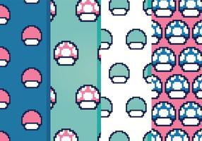 Kostenlose Videospiel-Vektor-Muster