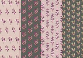 Gratis Vector Leaves Patterns