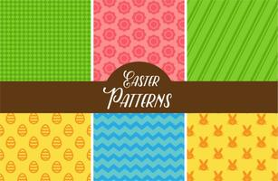 Nette Ostern Vektor Muster