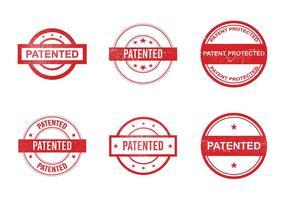 Freie Patent-Vektor-Ikone