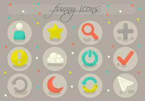 Free Verschiedene Icons Vector