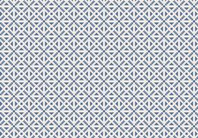Blaue Geometrische Muster Hintergrund Vektor