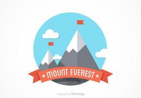Kostenloser Mount Everest Vector Design