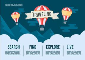 Gratis Travel Vector Illustration