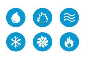 Kostenlose HVAC Icons Vektor
