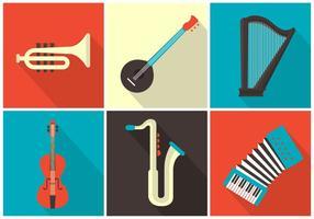 Vektor Musikinstrumente