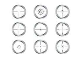 Sniper-Sucher-Vektoren vektor