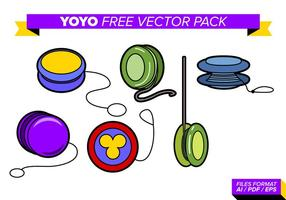 Yoyo fri vektor pack