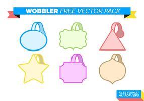 Wobbler fri vektor pack