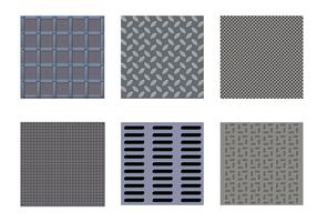 Gratis Manhole Texture Vector
