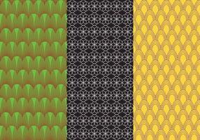 Set Hintergrund Bauhaus Muster Vektoren