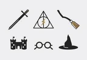 Hogwarts kostenloses Vektor Pack