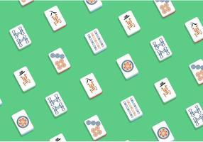 Mahjong Vector Mönster