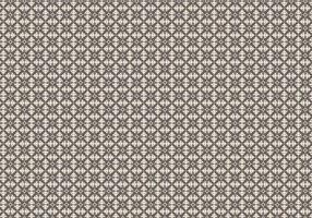 Mosaik blommönster vektor