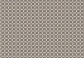 Mosaik Blumenmuster vektor