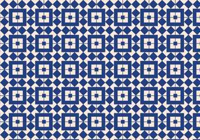 Blå geometrisk mönster bakgrund vektor
