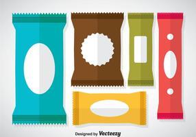 Färgglada säckviktorer vektor