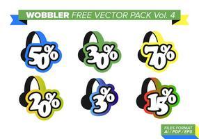 Wobbler fri vektor pack vol. 4