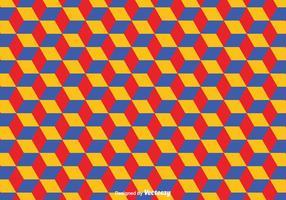 Geometrisches Bauhaus-Vektor-Muster vektor