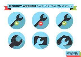 Monkey Skiftnyckel Gratis Vector Pack Vol. 2