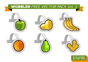 Wobbler fri vektor pack vol. 3