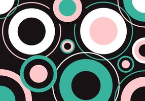 Bauhaus Hintergrund Stil Vektor