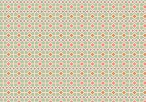 Pastell Square Mönster Bakgrund vektor