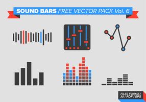 Sound Bars kostenlos Vektor Pack Vol. 6