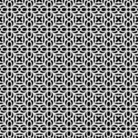 cool färgrik abstrakt mönster sömlös svartvit bakgrund vektor