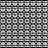 abstraktes nahtloses Muster stilisiertes Blumenmuster vektor