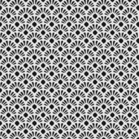 blomma blad prydnads sömlösa mönster vektor
