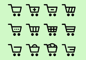 Kostenlose Shopping Icons Vektor
