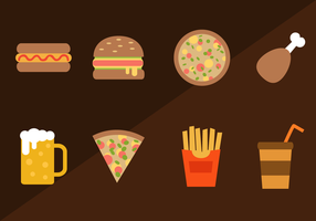 Free Fast Food Vektor