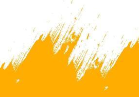 gelber grungy Pinsel streichelt