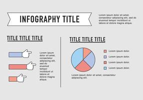 Umrissene Entrepreneurship Infography Vector