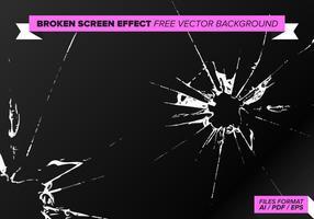 Broken Screen Effekt Freier Vektor Hintergrund