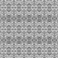 nahtloses Muster der monochromen Illusion vektor