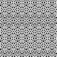 ineinandergreifendes filigranes nahtloses Muster vektor