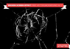Broken Screen Effekt Freier Vektor Hintergrund Vol. 3