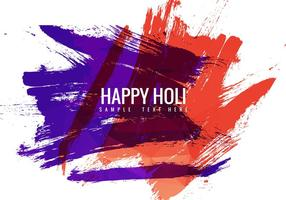 Free Holi Festival Vektor Hintergrund