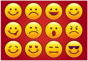 Moderne Imessage Emoticon Vektor